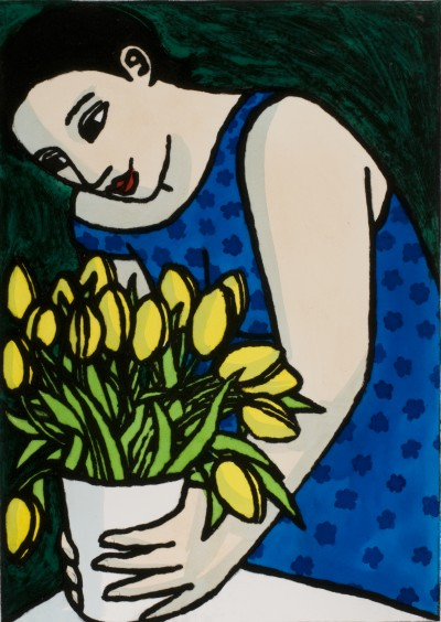 The Yellow Tulips