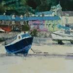 Blue Boat - Borth y Gest