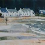 Lone Figure - Porth Nefyn SOLD