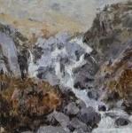 Waterfall, Cwm Idwal SOLD