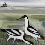 Avocets and Egg