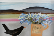 Blackbird and Still Life