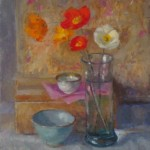 Poppies and Two Bowls SOLD