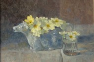 Primroses in Cow Creamer