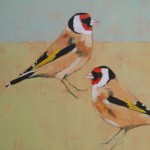 Two Goldfinches SOLD