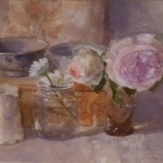 Still Life with Two Roses