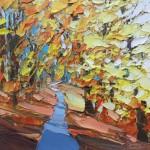 Autumn Path, Delamere