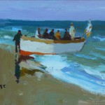 Boat on the Shore SOLD
