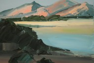 Pink Hills across the Estuary SOLD