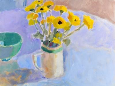 Yellow Chrysanthemums SOLD