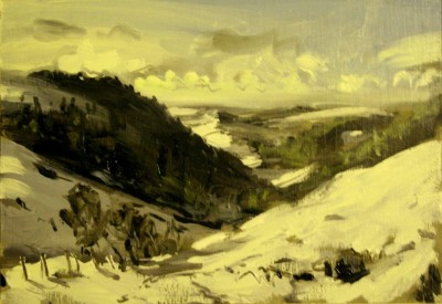 Toward Lake Vyrnwy SOLD