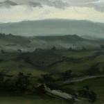 Distant Llandinham Hill