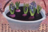 Blue Hyacinths Grey Bucket 40 x 51 £425 (2)