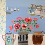 Anemones and Studio Pots