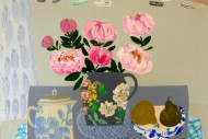 Peonies and Pears SOLD