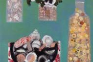 Seashells and Pansies