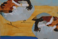 Two Berlin Sparrows SOLD