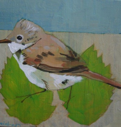 White Throat SOLD