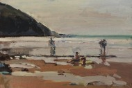Figures on Beach II