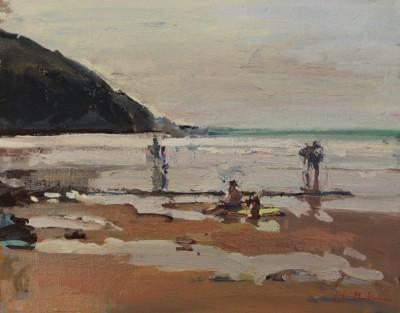 Figures on Beach II