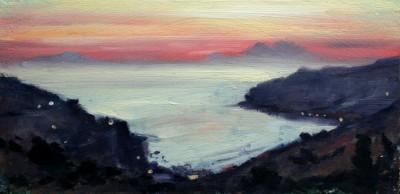 Peloponnese Sunset I
