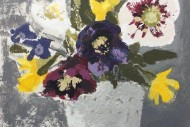Birthday Card Flowers SOLD