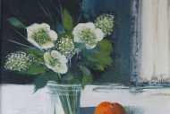 Still Life with Hellebores SOLD