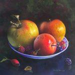 apples blackberries