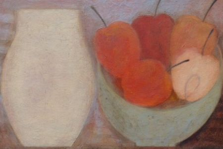 Jar with Five Apples by Vivienne Williams