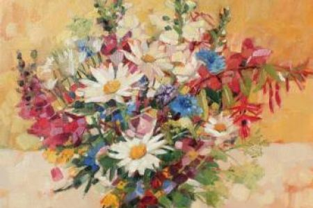 Summer Flowers by Anne-Marie Butlin