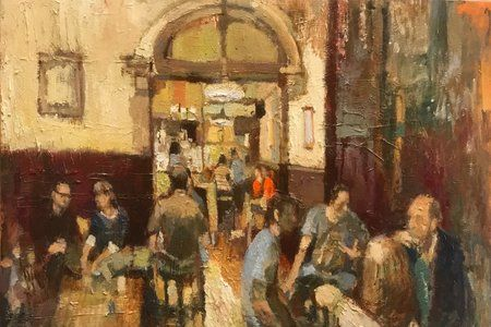Lounge Study by Lucy Manfredi